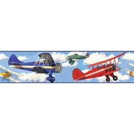 Samolepící bordury - obrázky  Letadla