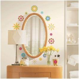 Samolepící dekorace,obrázky,samolepky Květiny