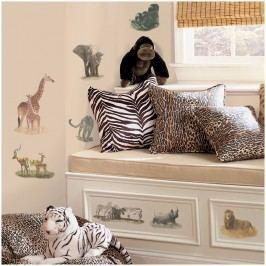 Samolepící dekorace - samolepky Safari-Džungle