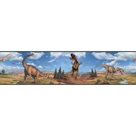Samolepící  bordury - obrázky Dinosauři