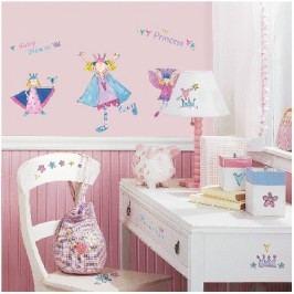 Samolepící dekorace, samolepky, obrázky Víly
