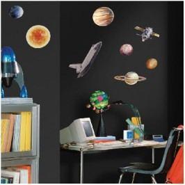 Samolepící dekorativní samolepky Vesmír