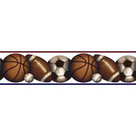Samolepící bordury - Sportovní míče