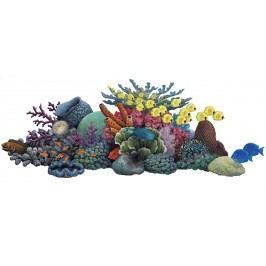 Samolepící dekorace  Korálový útes
