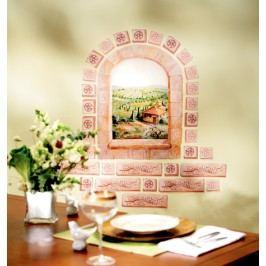 Samolepky Okno toskánské