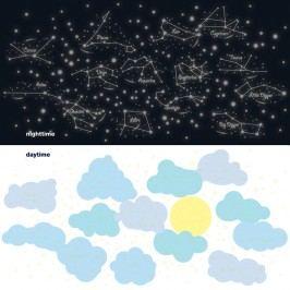 Samolepky Denní a noční obloha