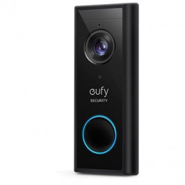 Anker Eufy Video Doorbell 2K black (Battery-Powered) Add on only