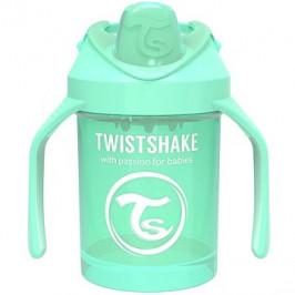 TWISTSHAKE Hrnek učicí 230 ml zelená