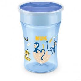 NUK hrnek Magic Cup s víčkem 230 ml - modrá