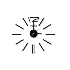 Stardeco Nástenné nalepovací hodiny HM-10E028