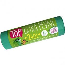 VIPOR LDPE Top Extra pevné 240 l, 10 ks, zelený