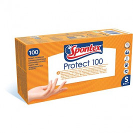 SPONTEX Protect vel. S, 100 ks