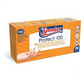 SPONTEX Protect vel. M, 100 ks