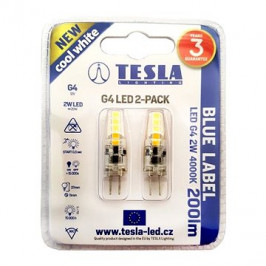 TESLA LED 2W G4 2ks 4000K