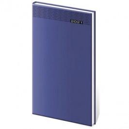 Diář 2021 týdenní kapesní Gommato - modrá