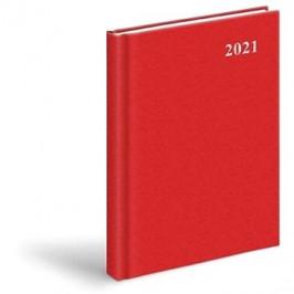 Diář 2021 D801 PVC Red