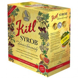 Kitl Syrob Citron 5l bag-in-box