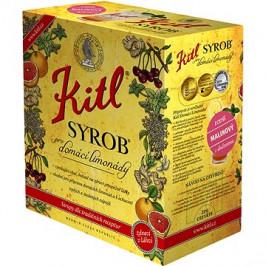 Kitl Syrob Malinový 5l bag-in-box
