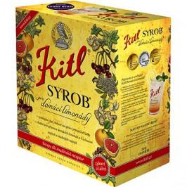Kitl Syrob Černý rybíz 5l bag-in-box
