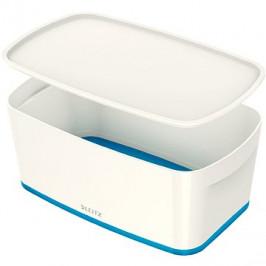 Leitz WOW MyBox, velikost S, bílá/modrá
