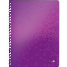 Leitz WOW A4, linkovaný, purpurový