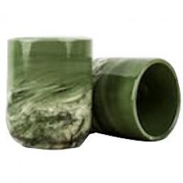 Made In Japan Hrnek bez ucha Mug Sushi mramorově zelený