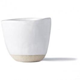 Made In Japan Hrnek bez ucha s nepravidelným okrajem Tea Cup bílý 180 ml