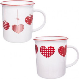 Orion Hrnek porcelánový HOME LOVE 350ml 2ks
