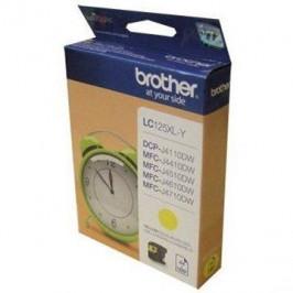 Brother LC-125XLY žlutá