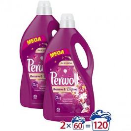 PERWOLL Renew&Blossom 2× 3,6l (120 praní)