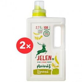 JELEN Aviváž lipová 2× 2,7 l (216 praní)