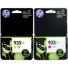 HP C2P25AE + HP C2P26AE č. 935XL purpurová + žlutá