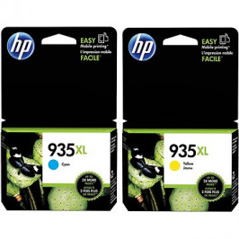 HP C2P26AE + HP C2P24AE č. 935XL žlutá + azurová