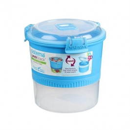 Sistema Lunch Stack To Go Blue Online 965ml (3)