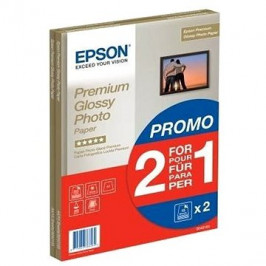 Epson Premium Glossy Photo A4 15 list + druhé balení papíru zdarma
