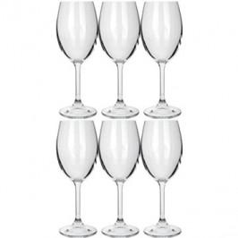 BANQUET Sada sklenic 6ks Leona Crystal bílé víno 230ml A11304
