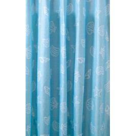Aqualine polyester modrá mušle ZP006 180 x 200 cm