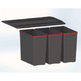 Odpadkový koš FRANKE Easysort 600-3-0 3×14,5 l