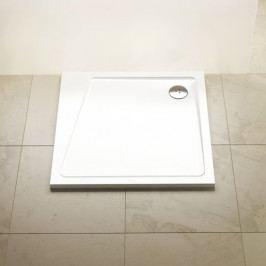 Sprchová vanička čtvercová Ravak 10° 80x80 cm litý mramor XA054401010