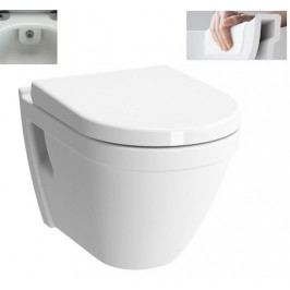 S50 závěsné WC 52, RimEx,s bidet.tryskou 7740-003-0850