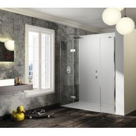 Sprchové dveře 180x200 cm levá Huppe Solva pure chrom lesklý ST1408.092.322