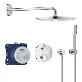 Sprchový systém Grohe Grohtherm včetně podomítkového tělesa chrom 34731000