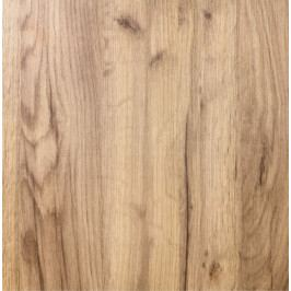 Kuchyňská skříňka pro troubu a mikrovlnnou troubu vysoká Naturel Gia 60 cm dub BOM60214DT