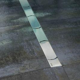 Sprchový žlab Ravak Chrome 95 cm nerez lesk obloučky X01630