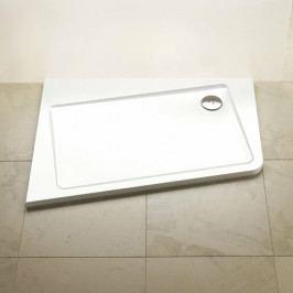 Vanička ASYMETRIC PRO 120x90 L 10° white XA25G70101L