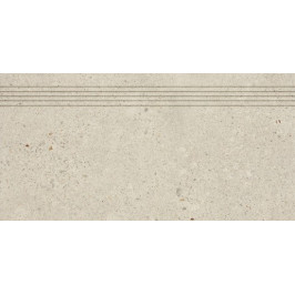 Schodovka Rako Piazzetta béžová 30x60 cm mat DCPSE787.1