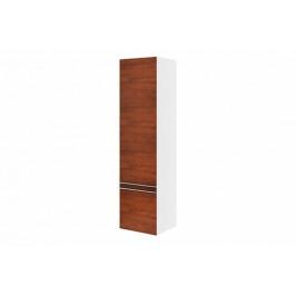 Koupelnová skříňka vysoká Ravak Clear 40x35 cm bílá/třešeň X000000764