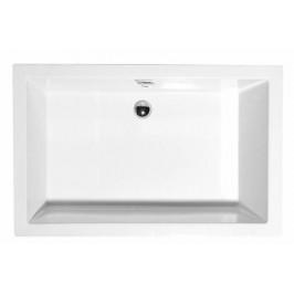 Polysan DEEP hluboká sprchová vanička, obdélník 100x90x26cm, bílá,72340
