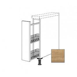 Kuchyňská skříňka spodní Naturel Sente24 s výsuvným systémem 15 cm dub sierra 405.UA15