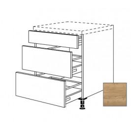 Kuchyňská skříňka spodní Naturel Sente24 zásuvková 90 cm dub sierra 405.UA90
